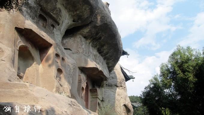 我在太原(晋祠,天龙山石窟,蒙山大佛二日游),山西旅游