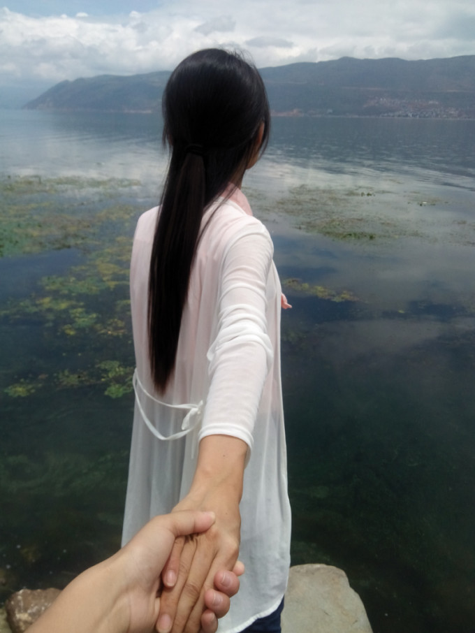 云南风景图片 美女