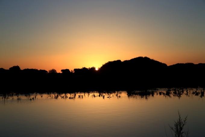 早起拍日出的摄影师,真不是一般的多哈 非常喜欢早上第一缕阳光照射到