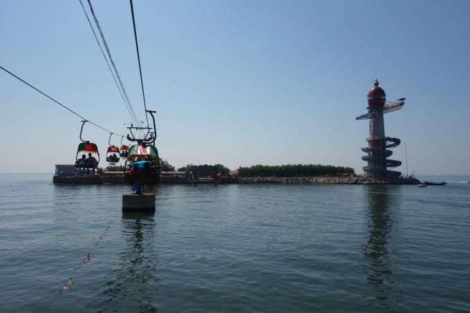 天津--昌黎渔岛--仙螺岛,秦皇岛野生动物园--老龙头