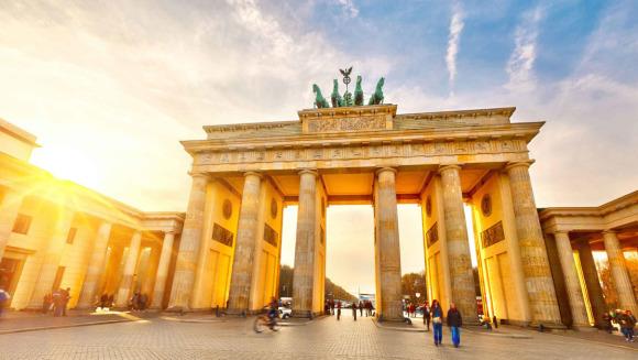 以及柏林标志性的电视塔