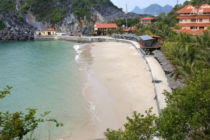 越南早上风景图