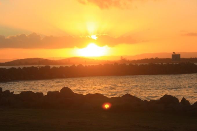 中午太阳风景照片